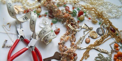 Recycled Jewellery Workshop 2 @ The Waiting Room