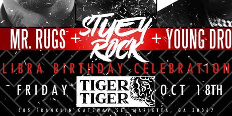 Upscale Fridays/Libra Bash !!! Stuey Rock's Celebrity Bday Bash !!! tickets