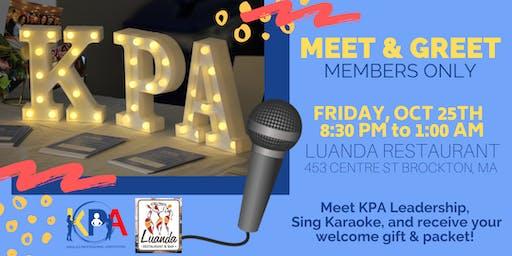 """""""KPA Fall 2019 Membership Cohort Meet & Greet Karaoke Night"""""""