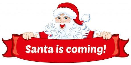 Meet Santa in his grotto tickets