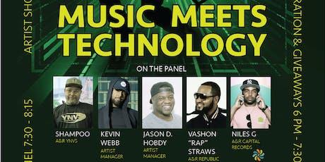 Music Meets Technology tickets