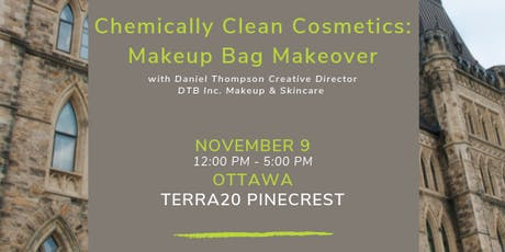 Makeup Bag Makeover with DTB Creative Director, Daniel Thompson tickets