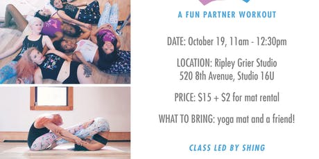 Swole Mate - Fun Partner Pilates Workout 10/19 tickets