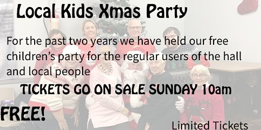 [SOLD OUT] Kids Christmas Party