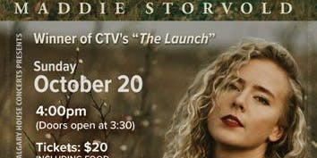 Maddie Storvold House Concert Sun Oct 20th