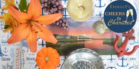 CHEERS TO CHARITIES WINE TASTING | EGAN MARITIME INSTITUTE tickets