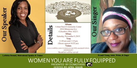 Women YOU are Fully Equipped tickets