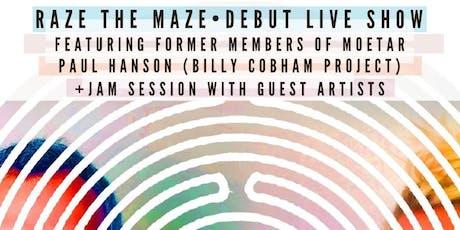 Raze The Maze (Moorea & Tarik of MoeTar) Record Release, Paul Hanson tickets