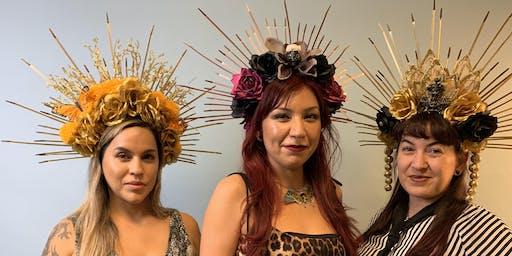 Make a Custom Day of the Dead Headdress