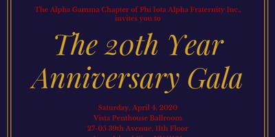 The 20th Year Anniversary Gala