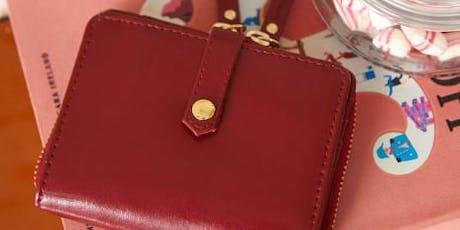 ATELIER DE CREATION - Mon portefeuille en cuir tickets