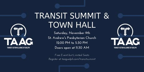 Transit Summit and Town Hall tickets