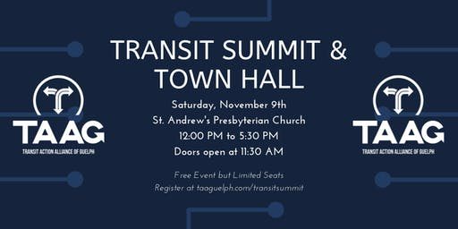 Transit Summit and Town Hall
