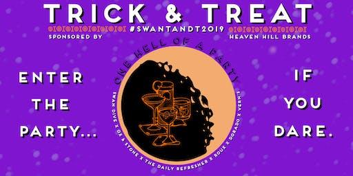 Trick & Treat. Swan Family Of Restaurants Halloween VIP Pass