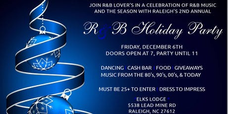 2nd Annual R&B Holiday Party tickets