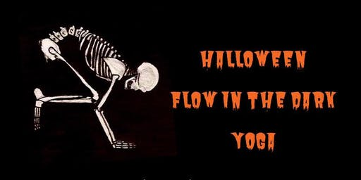 Halloween Flow in the Dark Yoga