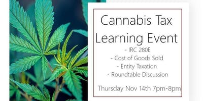 Cannabis Tax & Accounting Learning Event