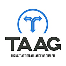 Transit Action Alliance of Guelph (TAAG) logo