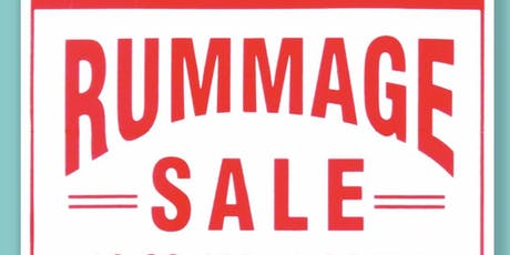 HUGE Rummage Sale 2019.10.19 Eglinton St. George's United Church tickets
