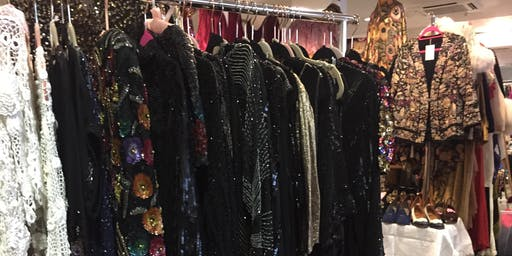 Hammersmith Vintage Fashion Fair, November 2019, at Hilton Olympia Hotel, Kensington