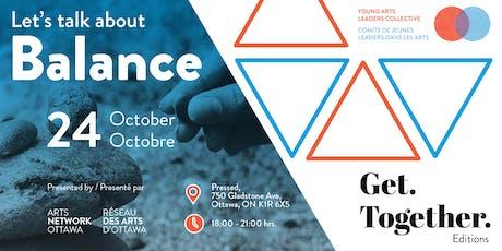 Get.Together: balance | Rassemblement: équilibre tickets