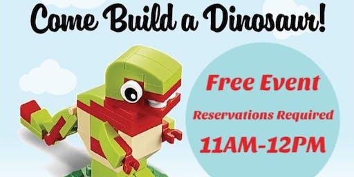 Lego Dino Make & Take