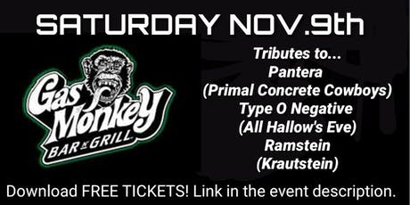 Primal Concrete Cowboys (Pantera Tribute) tickets