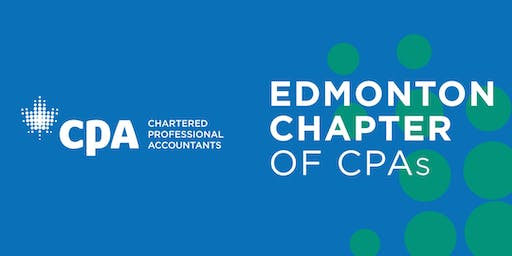 Edmonton Chapter of CPAs Presents Finance Minister Travis Toews