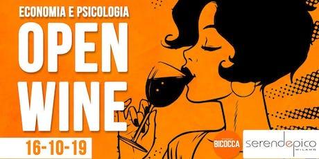 BICOCCA - Open Wine Economia e Psicologia! biglietti