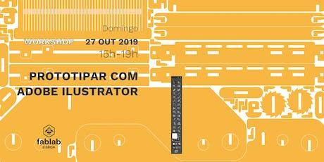 Prototipar com Adobe Illustrator tickets