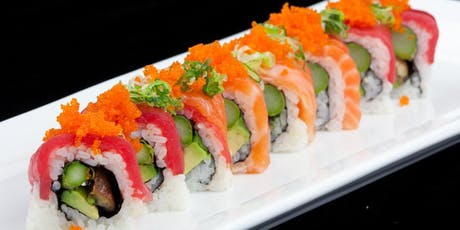 Sushi Cooking Class w. complimentary Sake tickets