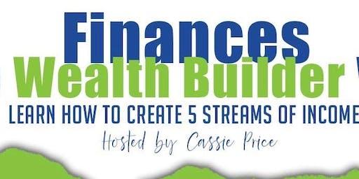 Finances: The Wealth Builder  Way