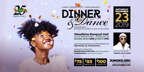 Camp Jumoke's 25th Anniversary Gala Dinner tickets