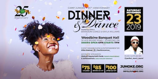 Camp Jumoke's 25th Anniversary Gala Dinner