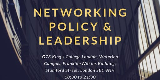 Networking: Policy & Leadership