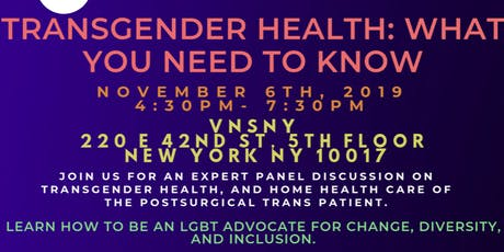 Transgender Health: What You Need to Know tickets