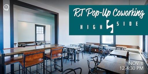 Rowan Tree Pop-Up Coworking at HighSide (Fairfax)