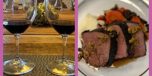 Meet Your Maker Wine + Dinner Pairing