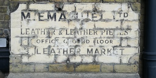 'The Three Tanners' -  History of the leather trade & lost industries.