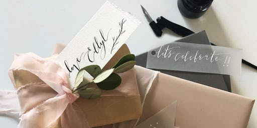 Festive Modern Calligraphy Workshop