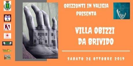 Villa Obizzi da Brivido! biglietti