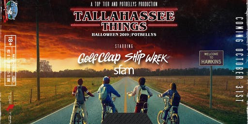 Tallahassee Things—A Tallahassee Halloween ft Ship Wrek, Golf Clap & sfam!