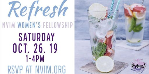 Replenish Women's Fellowship: Refresh