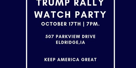 The Biggest Trump Rally Watch Party YET! 5 Screens & Projector tickets