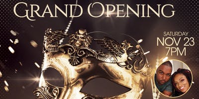 Grand Opening Masquerade Party
