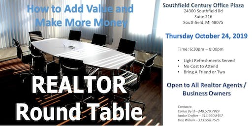 Realtor Round Table Connect