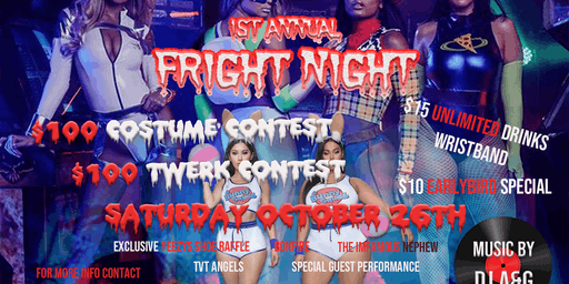 The Vault TV And VEROS Boutique Presents: The 1st Annual Fright Night Halloween Party/Mixer!!