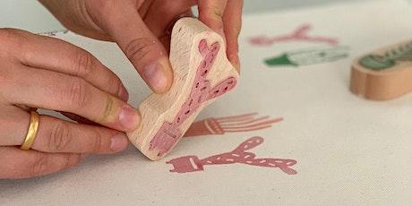 Handdruck auf Stoff - Ein altes Handwerk NEU erleben! Tickets