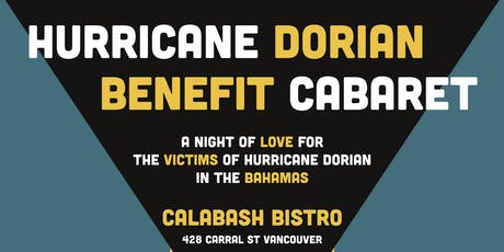 Hurricane Dorian Benefit Cabaret tickets