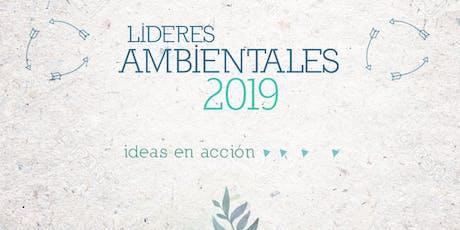 Lideres Ambientales 2019 entradas
